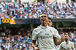Pepe of Real Madrid celebrates after scoring during the La Liga match between Real Madrid and Osasuna at the Santiago Bernabeu Stadium on 10 September 2016 in Madrid, Spain. Photo by Diego Gonzalez Souto / Power Sport Images