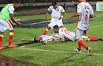 Leones igualó como local 2-2 ante Deportivo Pereira. Ambos perdieron la oportunidad de ascender a primera división. Fecha 6 cuadrangulares de ascenso 2016.