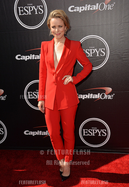 Rachel McAdams at the 2015 ESPY Awards at the Microsoft Theatre LA Live.<br /> July 15, 2015  Los Angeles, CA<br /> Picture: Paul Smith / Featureflash