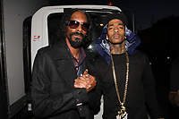 "WEST HOLLYWOOD, CA - FEBRUARY 11, 2019 Snoop Dogg & Nipsey Hussle on the set of the Young Jeezy ""R.I.P."" Video Shoot at Greystone Manor February 11, 2013 in West Hollywood, California. <br /> CAP/MPI/WG<br /> ©WG/MPI/Capital Pictures"
