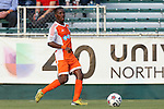 08 July 2015: Carolina's Tiyi Shipalane (RSA). The Carolina RailHawks hosted the Fort Lauderdale Strikers at WakeMed Stadium in Cary, North Carolina in a North American Soccer League 2015 Fall Season match. The game ended in a 1-1 tie.