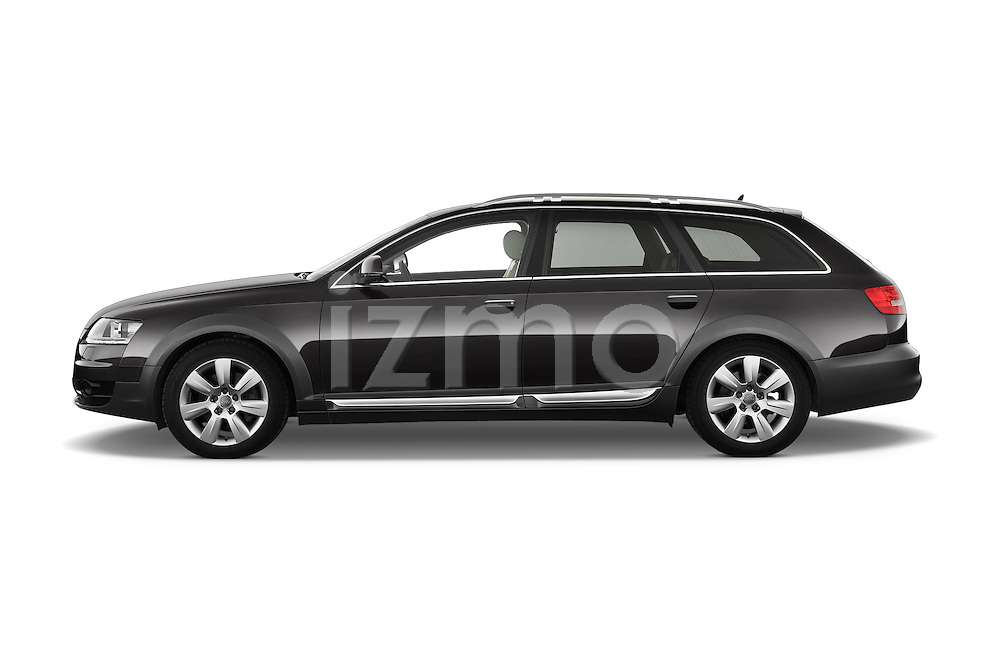 Driver side profile view of a 2006 - 2011 Audi A6 ALLROAD QUATTRO Avus 5-Door Wagon 4WD