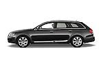 Driver side profile view of a 2006 - 2011 Audi A6 ALLROAD QUATTRO Avus 5-Door Wagon 4WD