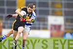 Brian Looney Dr. Crokes in action against Roland Whelton Castlehaven in the Munster Senior Club Final at Pairc Ui Caoimh on Sunday