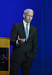 HOLLYWOOD, FL - SEPTEMBER 20: CNN anchor Anderson Cooper talking At Hard Rock Live! in the Seminole Hard Rock Hotel & Casino on September 20, 2012 in Hollywood, Florida.  (Photo by Johnny Louis/jlnphotography.com)