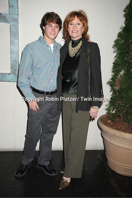 Andrew Trischitta and Barbara Rhoades  attend the Center for Hearing and Communication 18th Annual Feast on October 24, 2011 at Pier Sixty in Chelsea Piers in New York City.