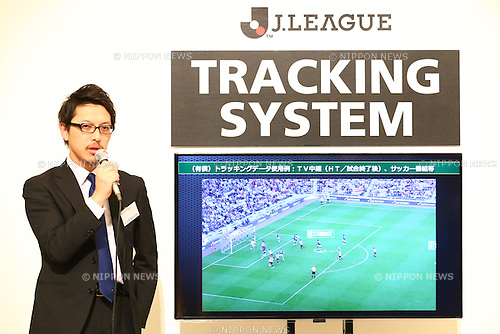 General View,<br /> FEBRUARY 19, 2015 - Football / Soccer : <br /> 2015 J.LEAGUE Press Conference <br /> at Grand Prince Hotel Shin-Takanawa, Tokyo, Japan. <br /> (Photo by Shingo Ito/AFLO SPORT)