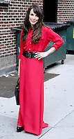"""Noomi Rapace attends """" The Late Show """" - New York"""