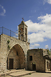 Israel, Upper Galilee. The Maronite Church of Kfar Biram