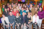 Pat Dennehy, Manor West, Tralee (seated 3rd from left) celebrated her 60th birthday last Friday night in Stokers Lodge with her hubby Peter and many friends and family.