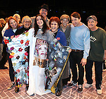 .during the Broadway Opening Night Gypsy Robe Ceremony honoring Cameron Adams in 'Nice Work If You Can Get It' at the ImperialTheatre on 4/24/2012 in New York City.