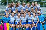UTRECHT -   Kampong Dames I , seizoen 2019/2020. teamfoto: voor: keeper Ayeisha McFerron (Kampong) , Nee van Laarhoven (Kampong) , Malou Pheninckx (Kampong) , Margot Zuidhof (Kampong) ,  Chiara Tiddi (Kampong) , Elsie Nix (Kampong) , keeper Inge Dijkstra (Kampong) . midden:  , Jutta van Crevel (Kampong) , Marieke van der Vis (Kampong) , Mabel Brands (Kampong) , Pam Imhof (Kampong) , Gabrielle Mosch (Kampong) , . boven: Anna van den Putten (Kampong) , Anna Fenne (Kampong) ,Lisa Gerritsen (Kampong) , Michelle Simons (Kampong) ,Tessa Schoenaker (Kampong) , Carlijn Tukkers (Kampong) , Luna Fokke (Kampong) , Carmen Wijsman (Kampong). COPYRIGHT KOEN SUYK