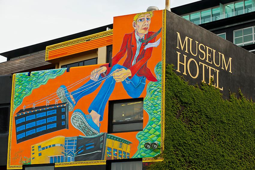 Museum Hotel, Wellington, NewZealand