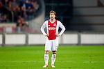 Nederland, Amsterdam, 15 september  2012.Seizoen 2012/2013.Eredivisie.Ajax-RKC 2-0.Lasse Schone van Ajax in actie .