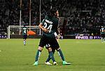 Un vibrante empate a 3 goles entre Once Caldas y Nacional se vivió este domingo por la tarde-noche en el Palogrande de Manizalez, en duelo por la octava fecha del Apertura 2015.