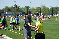 Kansas City, MO - Saturday May 13, 2017:  Vlatko Andonovski prior to a regular season National Women's Soccer League (NWSL) match between FC Kansas City and the Portland Thorns FC at Children's Mercy Victory Field.