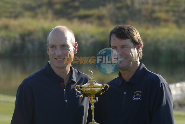 USA Team Photo with Captain Paul Azinger and Jim Furyk for the 37th Ryder Cup at Valhalla Golf Club, Louisville, Kentucky, USA, 17th September 2008 (Photo by Eoin Clarke/GOLFFILE)