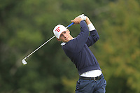 Loic Ettlin of Team Switzerland on the 6th tee during Round 3 of the WATC 2018 - Eisenhower Trophy at Carton House, Maynooth, Co. Kildare on Friday 7th September 2018.<br /> Picture:  Thos Caffrey / www.golffile.ie<br /> <br /> All photo usage must carry mandatory copyright credit (&copy; Golffile | Thos Caffrey)