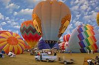 Albuquerque, New Mexico, USA, US, hot air balloons
