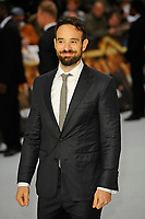 LONDON, ENGLAND - SEPTEMBER 12: Charlie Cox attending the World Premiere of 'King Of Thieves' at Vue West End, Leicester Square on September 12, 2018 in London, England.<br /> CAP/MAR<br /> &copy;MAR/Capital Pictures