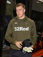 Leeds United's Bailey Peacock-Farrell steps off the team coach<br /> <br /> Photographer Alex Dodd/CameraSport<br /> <br /> The EFL Sky Bet Championship - Sheffield United v Leeds United - Saturday 1st December 2018 - Bramall Lane - Sheffield<br /> <br /> World Copyright &copy; 2018 CameraSport. All rights reserved. 43 Linden Ave. Countesthorpe. Leicester. England. LE8 5PG - Tel: +44 (0) 116 277 4147 - admin@camerasport.com - www.camerasport.com