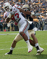 Louisville tight end Cameron Graham. The Pitt Panthers defeated the Louisville Cardinals 20-3 at Heinz Field, Pittsburgh Pennsylvania on October 30, 2010.