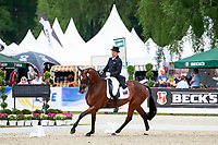 AUS-Shane Rose rides Virgil during the 1st day of Dressage, CCI4* Presented by DHL, at the 2017 Luhmühlen International Horse Trial. Thursday 15 June. Copyright Photo: Libby Law Photography