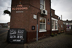 The Blossoms pub in Stockport which the band Blossoms, take their name. The guitar pop band have come fourth on the BBC Sound of 2016 list, which highlights the hottest new acts for the new year. The five members, who were all born in the same Stockport hospital, formed in 2013 and have honed their sound by rehearsing in their bassist's granddad's scaffolding yard take their name from a local pub. The group are comprised of: Tom Ogden, vocals, Charlie Salt, bass, Josh Dewhurst , lead guitar, Joe Donovan, drums and Myles Kellock, keyboards.