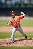 Houston Astros pitcher Sean Stutzman (52) during a Minor League Spring Training Intrasquad game on March 28, 2018 at FITTEAM Ballpark of the Palm Beaches in West Palm Beach, Florida.  (Mike Janes/Four Seam Images)