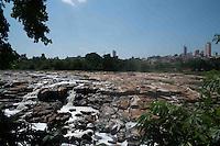 PIRACICABA, SP, 22.10.2014 - RIO PIRACICABA - Vista do Rio Piracicaba que enfrenta a maior seca da historia em Piracicaba interior do Estado nesta quarta-feira, 22. (Foto: Mauricio Bento / Brazil Photo Press).
