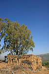 Golan Heights, Tel Faher is one of the Syrian fortifications that was captured by the Israel Defense Forces in the Six Day War