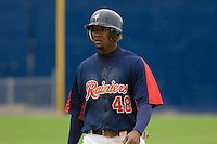June 1, 2008: Tacoma Rainiers' Prentice Redman went 2-for-4 at the plate with a double against the Salt Lake Bees at Cheney Stadium in Tacoma, Washington.