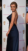 London, UK. 8 May 2016. Pictured: Katherine Jenkins. Red carpet  celebrity arrivals for the House Of Fraser British Academy Television Awards at the Royal Festival Hall.