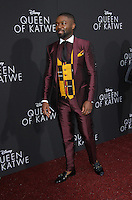 "20 September 2016 - Hollywood, California - David Oyelowo. ""Queen Of Katwe"" Los Angeles Premiere held at the El Capitan Theater in Hollywood. Photo Credit: AdMedia"