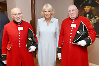 Camilla Duchess of Cornwall at Victory Services Club