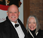 "Guiding Light's Ron Raines ""Alan Spaulding"" poses with his wife Dona as he along with fellow singers highlighted the evening with song honoring Stephen Sondheim - A Gala Evening to support New York Festival of Song on April 19, 2017 at Carnegie Hall's Weill Recital Hall. (Photo by Sue Coflin/Max Photos)"