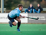 BLOEMENDAAL  -  Mart Leempoel heeft gescoord , competitiewedstrijd junioren  landelijk  Bloemendaal JA1-Nijmegen JA1 (2-2) .   COPYRIGHT KOEN SUYK