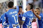 CD Leganes' Tito Roman, Erik Moran, Martin Mantovani, Diego Rico and Nabil El Zhar celebrate goal during La Liga match. February 25,2017. (ALTERPHOTOS/Acero)