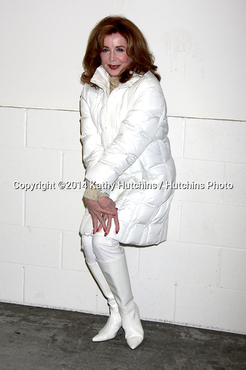 LOS ANGELES - NOV 30:  Suzanne Rogers at the 2014 Hollywood Christmas Parade at the Hollywood Boulevard on November 30, 2014 in Los Angeles, CA