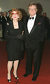"""Steve Allen, and his wife, Jayne Meadows arrive at the John F. Kennedy Center for the Performing Arts in Washington, D.C. on October 20, 1999, for the """"Mark Twain Prize"""" celebration in honor of Jonathan Winters..Credit: Ron Sachs / CNP"""