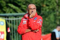 Maurizio Sarri Maurizio Sarri  durante il  ritiro precampionato del SSC Napoli a Dimaro<br />  05 Luglio  2017