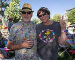 "Bill and Emily during the Pops on the River ""A night at Woodstock"" concert at Wingfield Park in downtown Reno on Saturday, July 13, 2019."