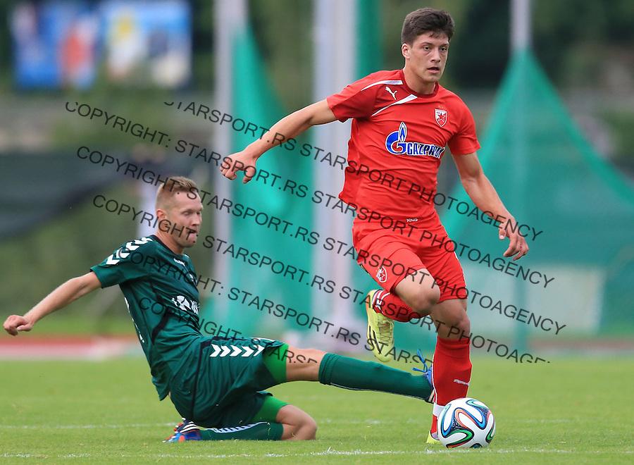 Fudbal season 2013-2014<br /> FK Crvena Zvezda pripreme<br /> Crvena Zvezda v Krka<br /> Luka Jovic<br /> Novo Mesto, 07.12.2014.<br /> foto: Srdjan Stevanovic/Starsportphoto &copy;