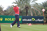 Damien McGrane teeing off on the 9th on day two of the Abu Dhabi HSBC Golf Championship 2011, at the Abu Dhabi golf club, UAE. 21/1/11..Picture Fran Caffrey/www.golffile.ie.