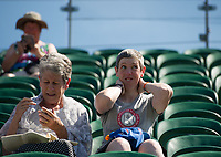 Fans on Court 2 at the start of the day<br /> <br /> Photographer Ashley Western/CameraSport<br /> <br /> Wimbledon Lawn Tennis Championships - Day 3 - Wednesday 5th July 2017 -  All England Lawn Tennis and Croquet Club - Wimbledon - London - England<br /> <br /> World Copyright &not;&copy; 2017 CameraSport. All rights reserved. 43 Linden Ave. Countesthorpe. Leicester. England. LE8 5PG - Tel: +44 (0) 116 277 4147 - admin@camerasport.com - www.camerasport.com