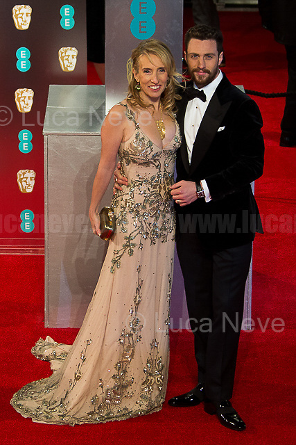 Sam Taylor-Johnson & Aaron Taylor-Johnson.<br />