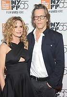 NEW YORK, NY - OCTOBER 11: Kyra Sedgwick and Kevin Bacon attends the 55th NYFF World Premiere of &quot;Joan Didion: The Center Will Not Hold &quot; at Alice Tully Hall on October 11, 2017 in New York City. <br /> CAP/MPI/JP<br /> &copy;JP/MPI/Capital Pictures