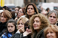 """Se non le donne chi? Se non ora quando?"": manifestazione per il rispetto della dignita' e dei diritti delle donne, a Roma, 11 dicembre 2011..Women attend the ""If not women who? If not now, when?"" rally to ask for respect of their dignity and rights, in Rome, 11 december 2011..UPDATE IMAGES PRESS/Riccardo De Luca"