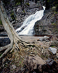 Caribou Falls, Superior State Forest, Minnesota, May, 1992