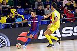 League LNFS 2017/2018 - Game 15.<br /> FC Barcelona Lassa vs Gran Canaria FS: 9-2.<br /> Joselito Fernandez vs Nacho Gil.